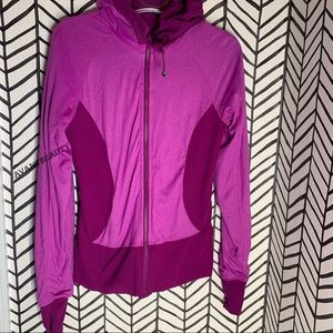 Lululemon in flux jacket reversible regal plum 8